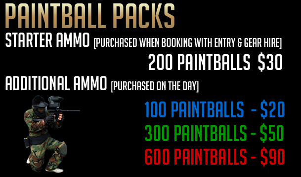 Paintball Prices Michelago