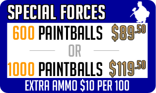 Special Forces Geelong Paintball Pack