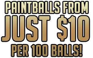 Melbourne cheapest Paintballs
