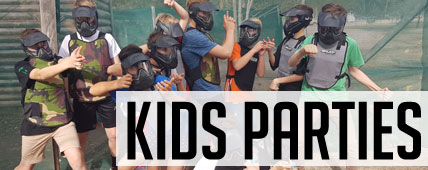 Kids Paintball Parties
