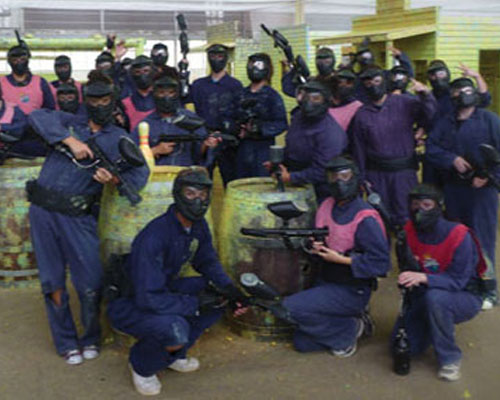 melbourne paintball groups